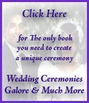 Ebook cover: Wedding Ceremonies Galore and Much Much More