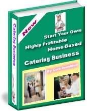 Ebook cover: Home-Based Catering Business