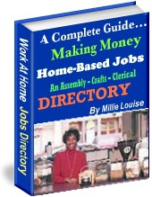Ebook cover: Making Money Working At Home Directory