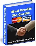 Ebook cover: BAD CREDIT - NO CREDIT - NO PROBLEM!