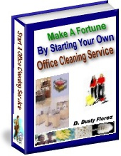 Ebook cover: Office Cleaning Business