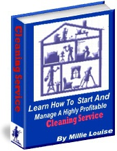 Ebook cover: How To Start & Manage A Highly Profitable Cleaning Service