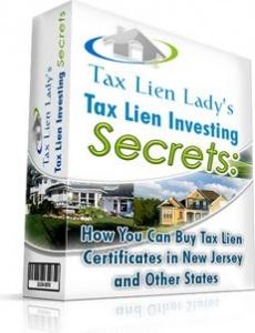 Ebook cover: Tax Lien Investing Secrets