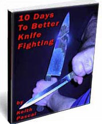 Ebook cover: 10 Days to Better Knife Fighting