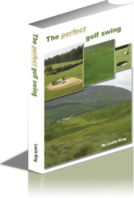 Ebook cover: The perfect golf swing