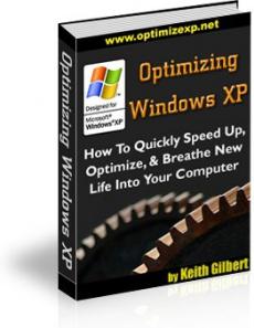 Ebook cover: Optimizing Windows XP