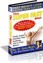 Ebook cover: The Super Fast Diet