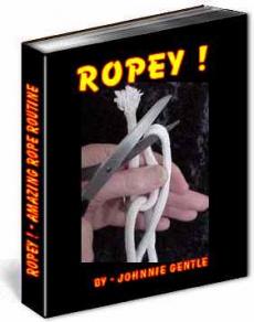 Ebook cover: ROPEY - Rope Tricks