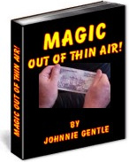 Ebook cover: Magic Out of Thin Air