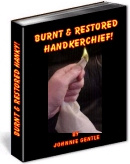 Ebook cover: Burnt & Restored Hanky