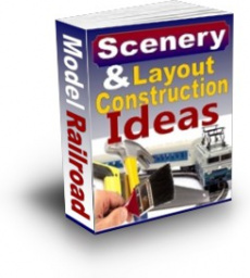 Ebook cover: Scenery Layout Train Construction Ideas