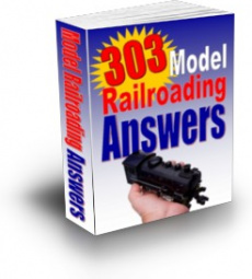 Ebook cover: 303 Model Railroading Answers