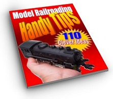 Ebook cover: 110 Handy Model Railroading Tips & Clever Ideas
