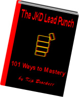 Ebook cover: The JKD Lead Punch: 101 Ways to Mastery