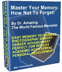 Ebook cover: Master Your Memory