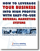 Ebook cover: Referral Marketing Systems