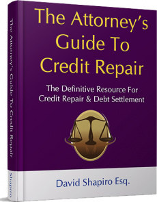 Ebook cover: The Attorney's Guide To Credit Repair