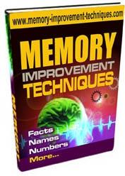 Ebook cover: Memory Improvement Techniques