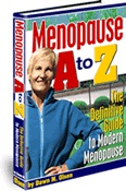 Ebook cover: Menopause A to Z - The Definitive Guide to Modern Menopause