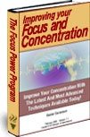 Ebook cover: Improving your Focus and Concentration