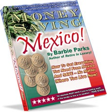 Ebook cover: Money Saving Mexico