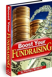 Ebook cover: Boost Your Fundraising