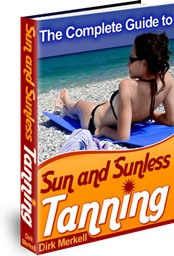 Ebook cover: Sun and Sunless Tanning