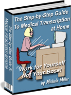 Ebook cover: Medical Transcription At Home