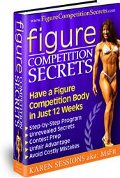 Ebook cover: Figure and Fitness Competition