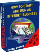 Ebook cover: How to Start an Internet Business