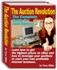 Ebook cover: Auction Revolution