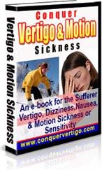 Ebook cover: Conquer Vertigo and Motion Sickness