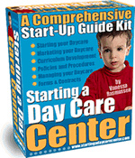 Ebook cover: How To Start A Day Care Center