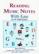 Ebook cover: Reading Music Notes With Ease for the Adult Beginner