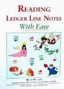 Ebook cover: Reading Ledger Line Notes With Ease