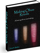 Ebook cover: Making Oboe Reeds