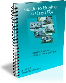 Ebook cover: How to Buy A Used Rv