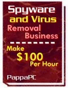 Ebook cover: Spyware & Virus Removal Business