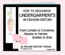 Ebook cover: How to Recognise Undergarments in Fashion History