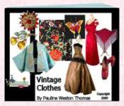 Ebook cover: Vintage Clothes