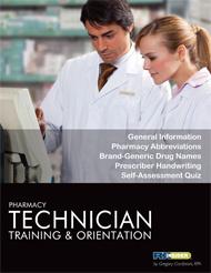 Ebook cover: Pharmacy Technician Training