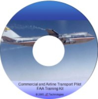 Ebook cover: Commercial and ATP Certification FAA Training Kit
