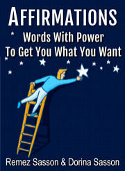 Ebook cover: Affirmations - Words of Power