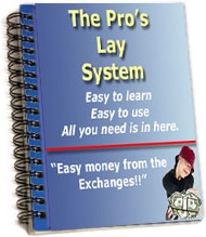 Ebook cover: Pro's lay System