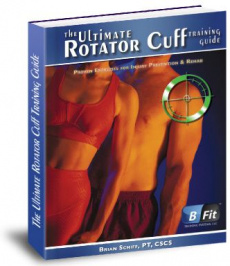 Ebook cover: The Ultimate Rotator Cuff Training Guide
