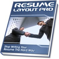 Ebook cover: Resume Layout Pro