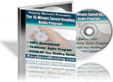Ebook cover: The 16-Minute Speed Reading Audio Program