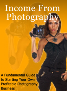 Ebook cover: Income From Photography