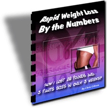 Ebook cover: Weight Loss By The Numbers