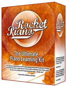 Ebook cover: Rocket Piano